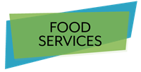 Logo for Food Services department