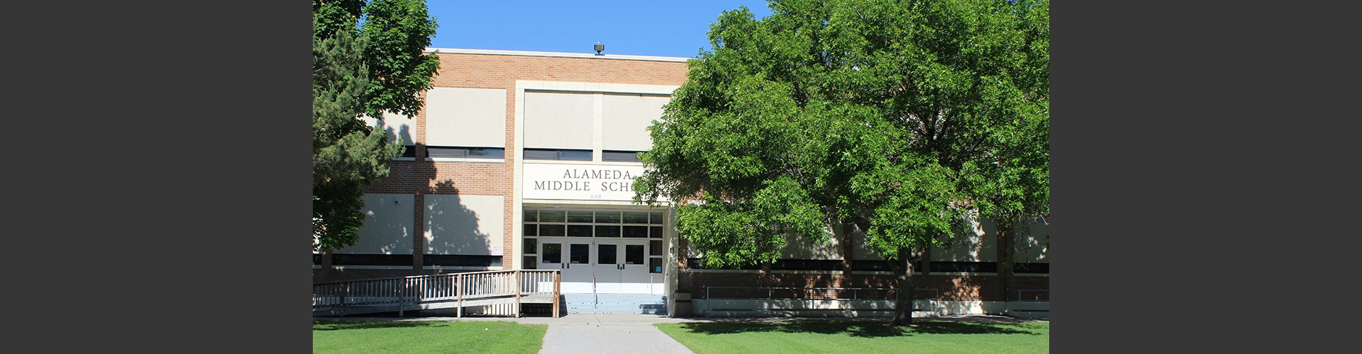 Front of Alameda Middle School