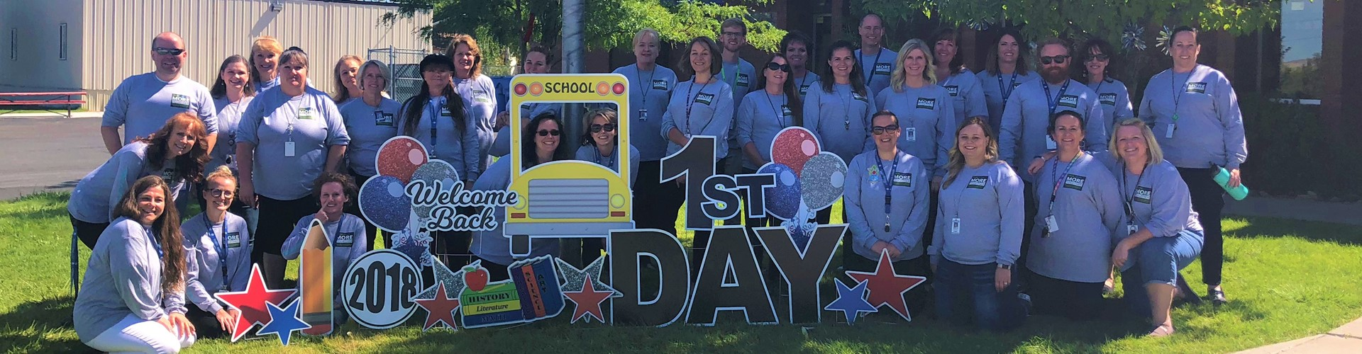 2018 First Day of School - Staff