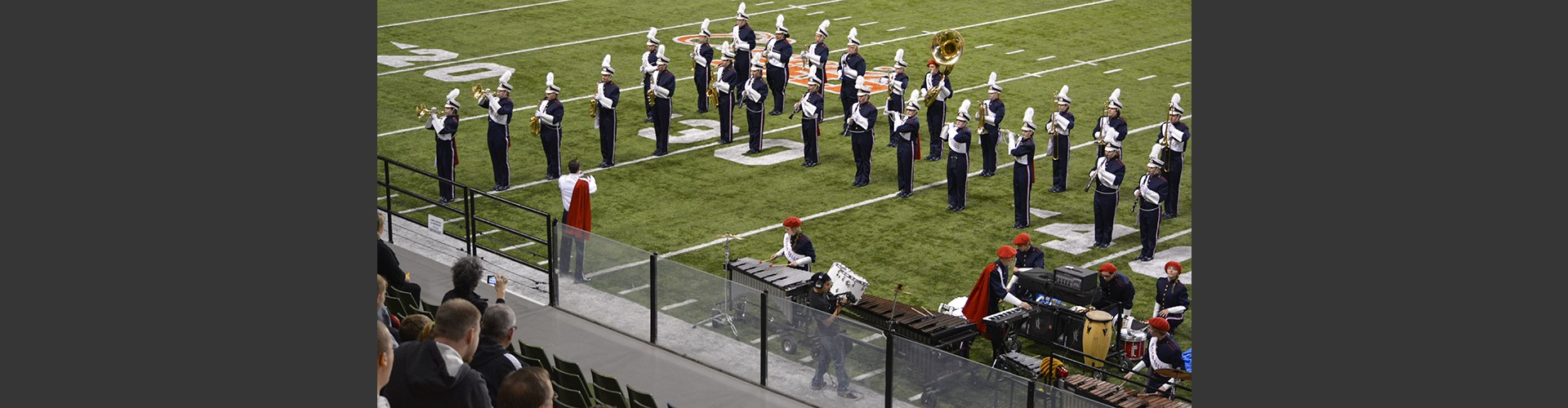 pocatello high school band formations on football field